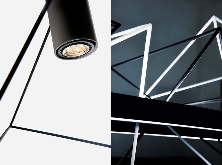 Γεωμετρικά φωτιστικά Rock Garden του Kazuhiro Yamanaka για την Pallucco.