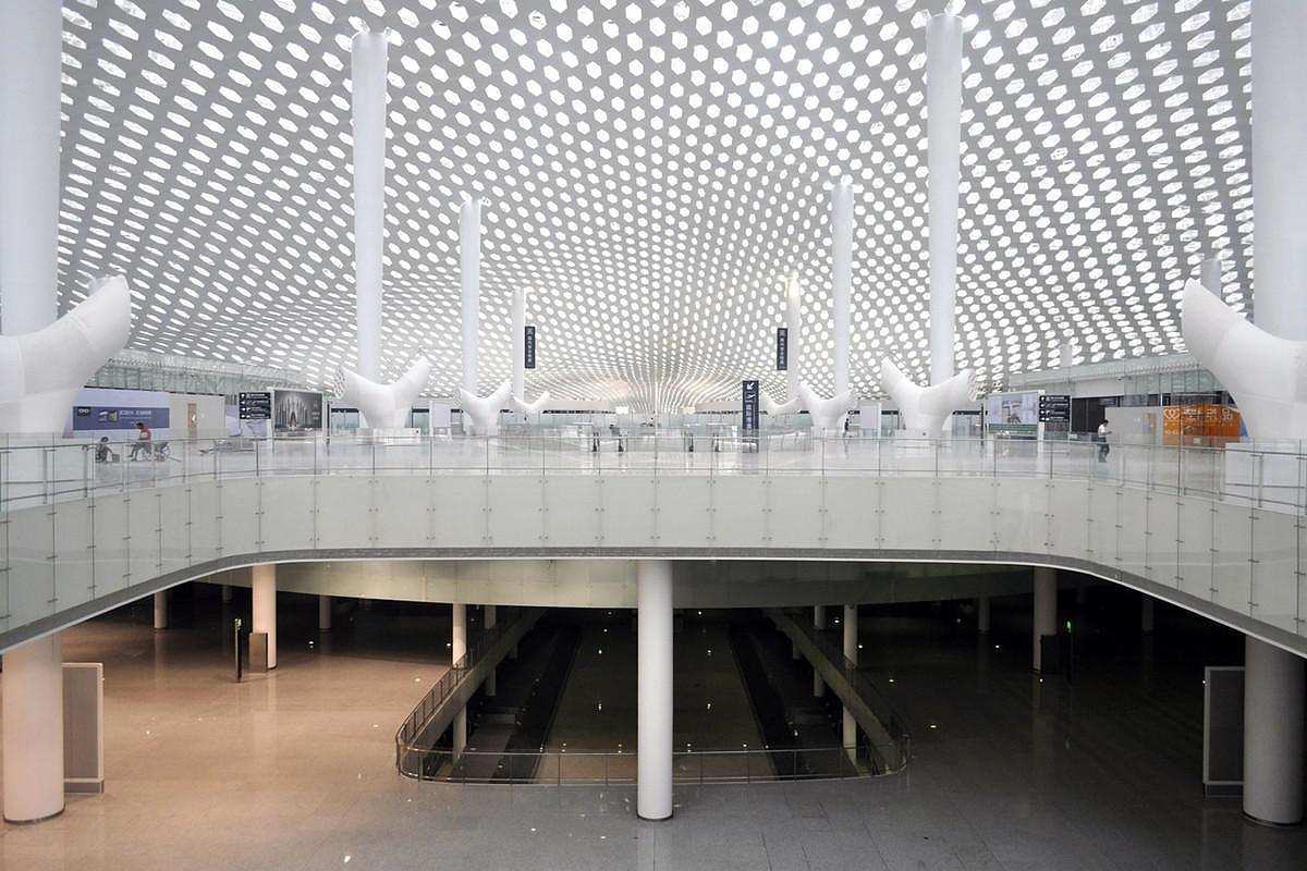 Terminal 3 at Shenzhen Airport by Studio Fuksas.