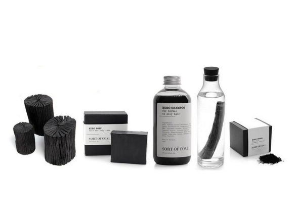 White charcoal products by Sort of Coal