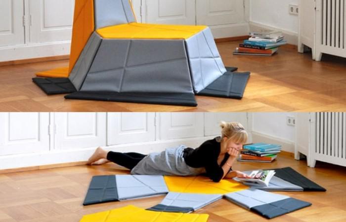 Yona Armchair Carpet by Kieser Spath Studio