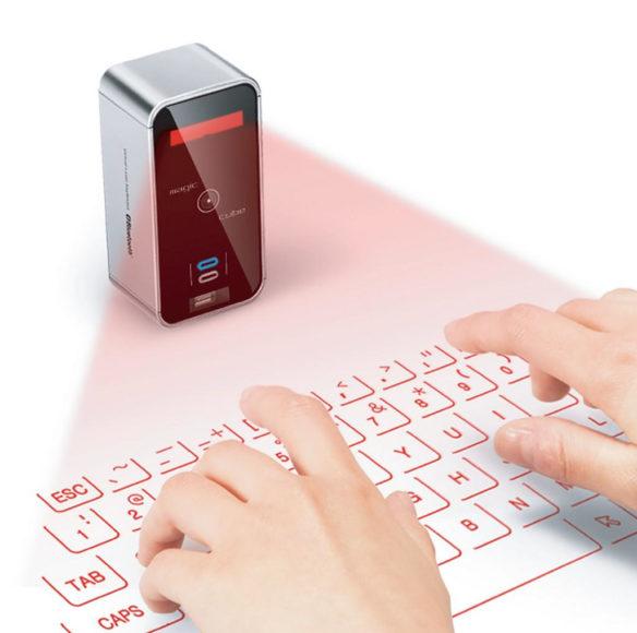 Celluon Magic Cube: Πληκτρολόγιο για tablet με δέσμη Laser.