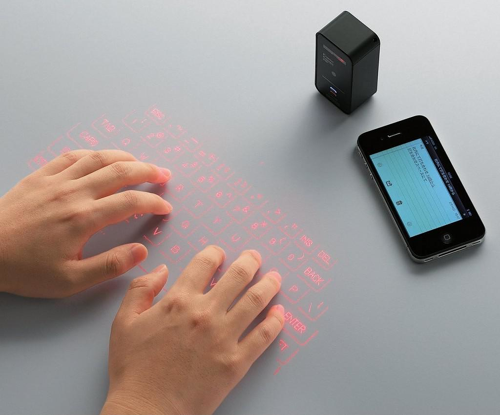 Celluon Magic Cube Bluetooth Laser Virtual Keyboard.