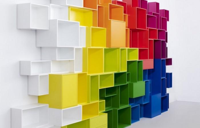 Cubit modular shelving system (12)