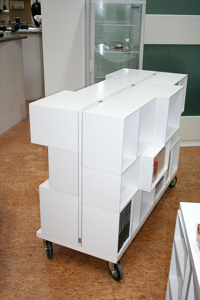 Cubit Modular Shelving System.