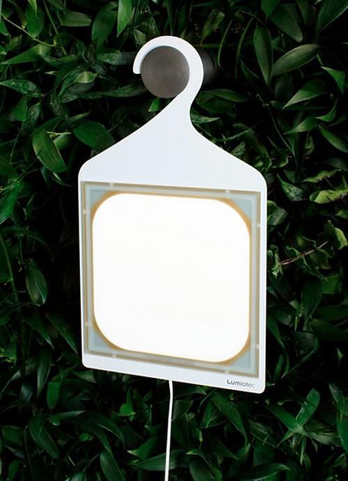 Forest of Evolution: a light installation promoting OLED evolution.