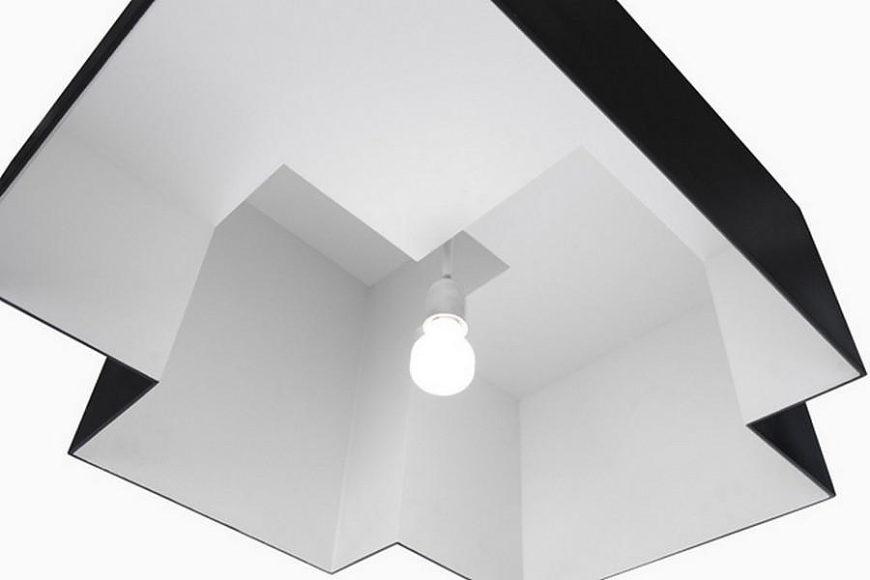 Φωτιστικό Οροφής Gather από τον Oki Sato της Nendo για την Κ%.