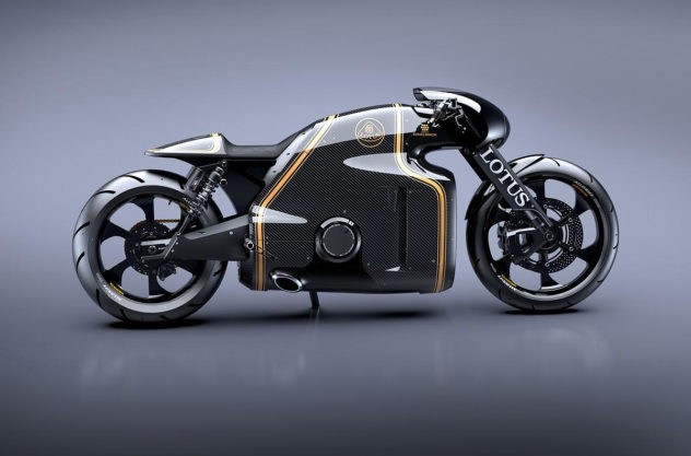 Lotus Motorcycle C-01 Road Ready