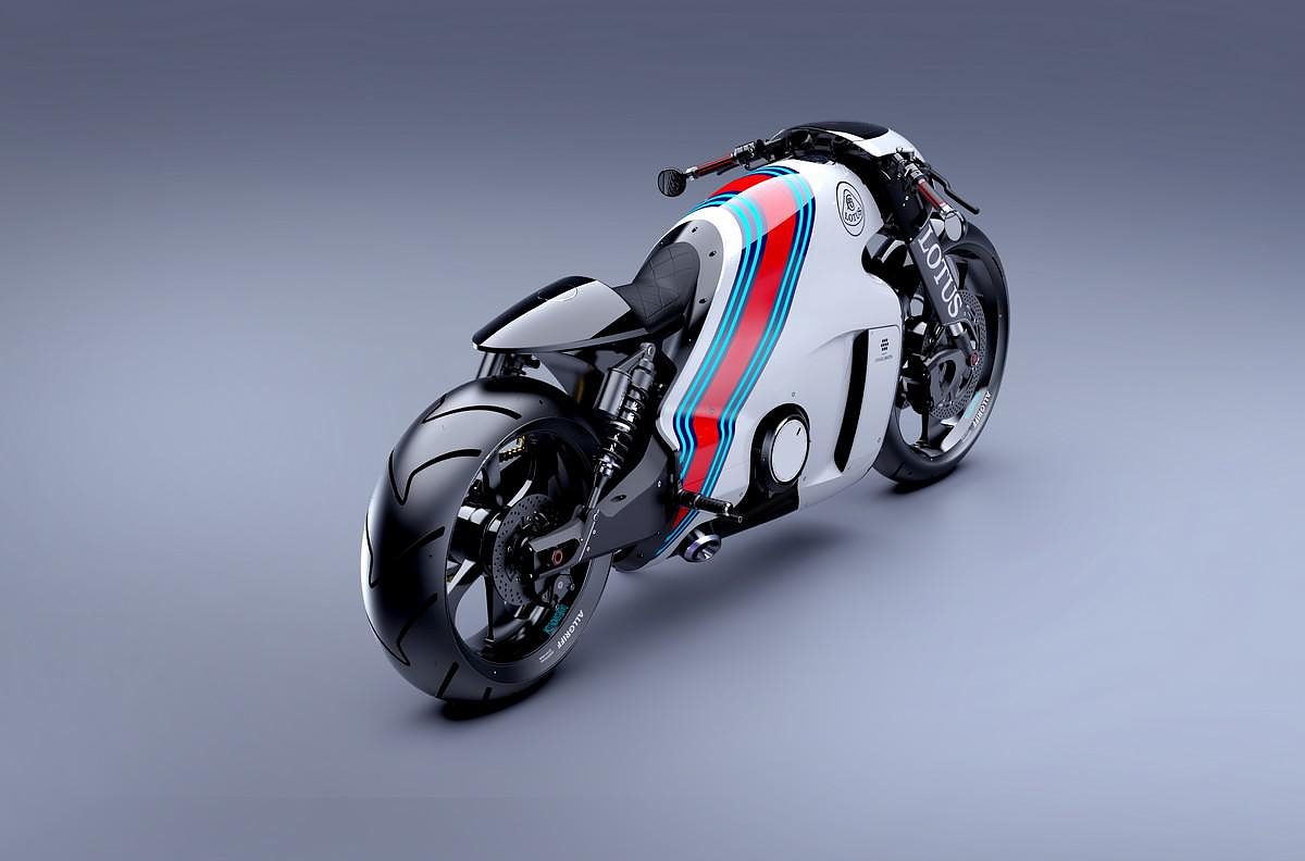 Lotus Motorcycle C-01 Ready to hit the road.