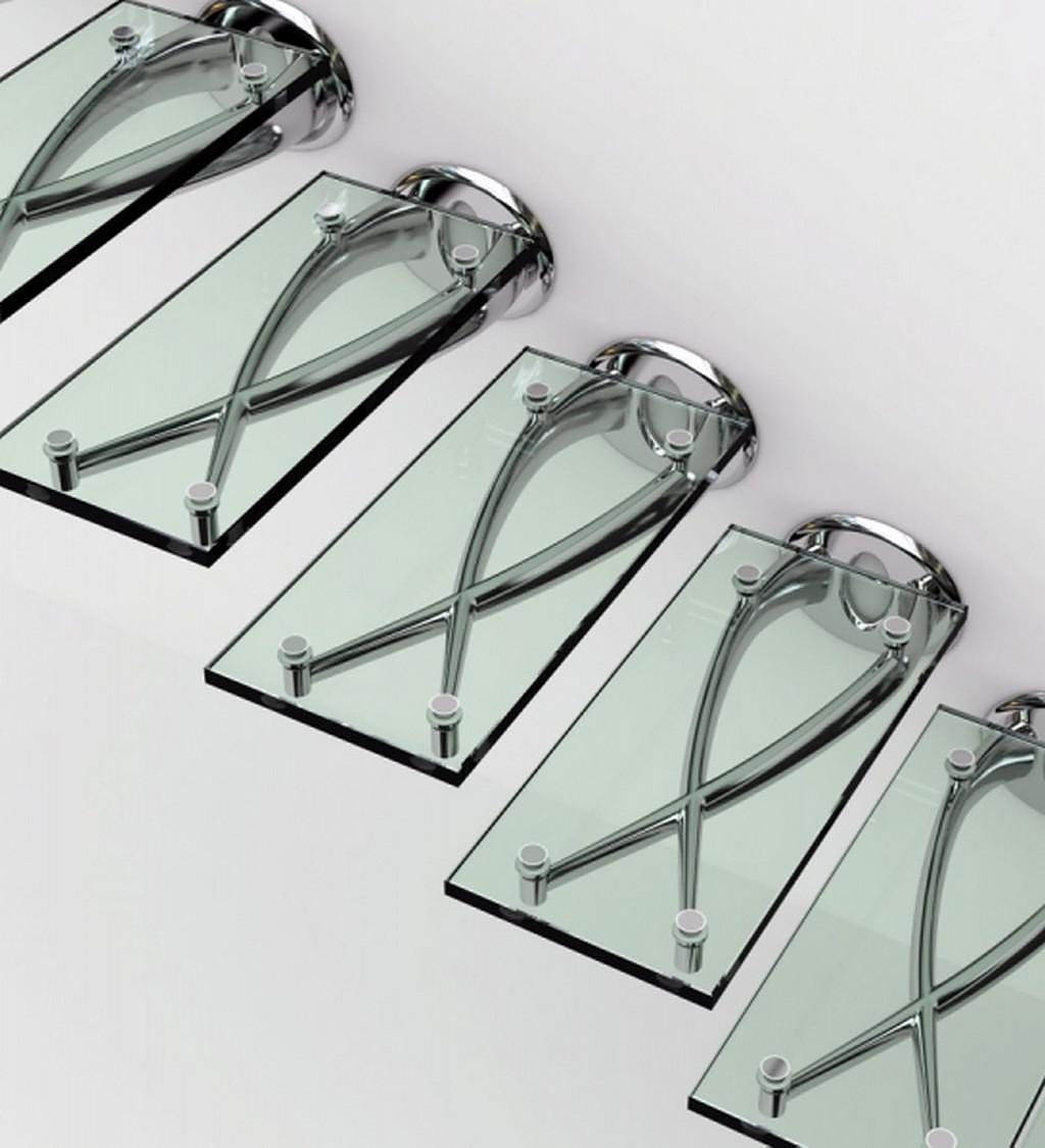 Sculptural Glass Staircases by Faraone.