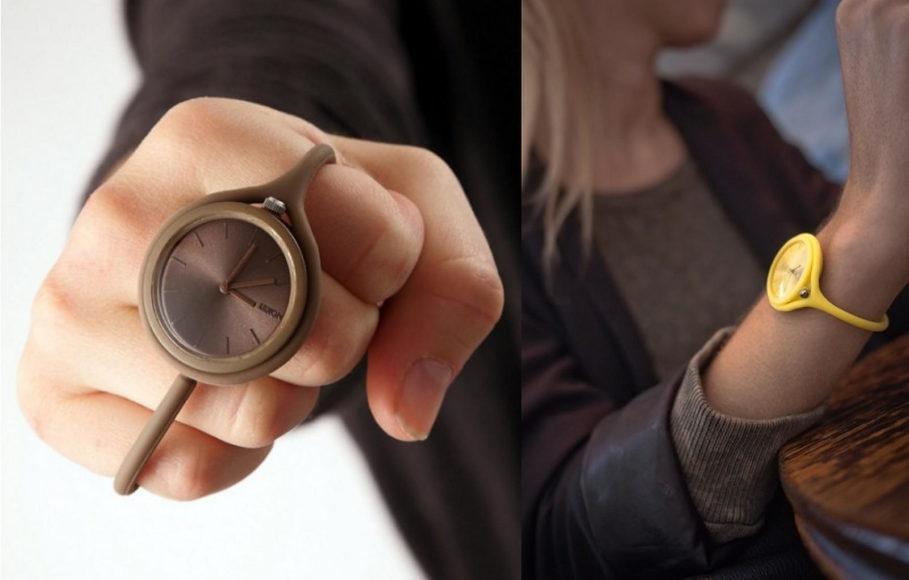 Πολυχρηστικό ρολόι χειρός Take Time από τη LEXON.