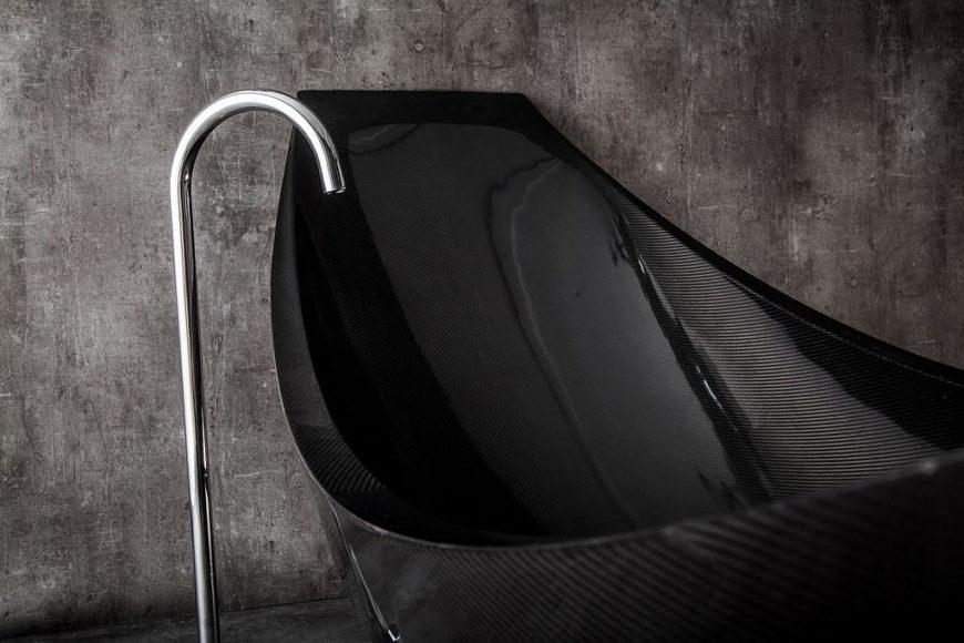 Μπανιέρα Vessel από Carbon Fiber της Splinter Works.