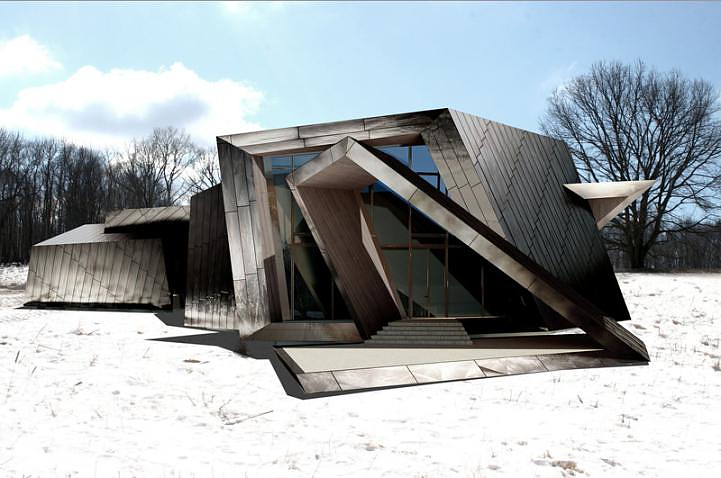 House by daniel libeskind design is this for Architecture 54