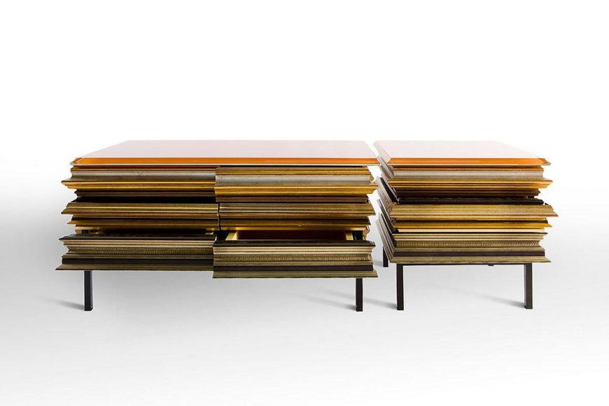 Αποθηκευτικά έπιπλα Frame από το Luis Pons Design Lab.