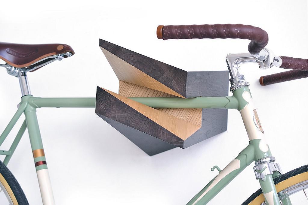 Iceberg Bicycle Wall Hanger by Woodstick Ltd.