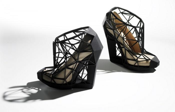 Invisible Shoe Collection by Andreia Chaves
