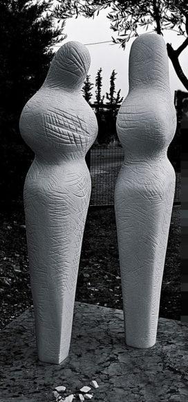 Η μοντέρνα μαρμαρογλυπτική του Οδυσσέα Τοσουνίδη.