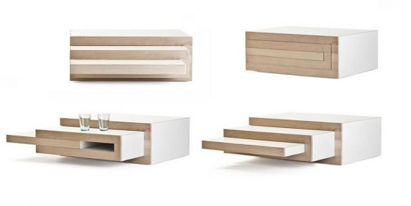 REK adjustable coffee table