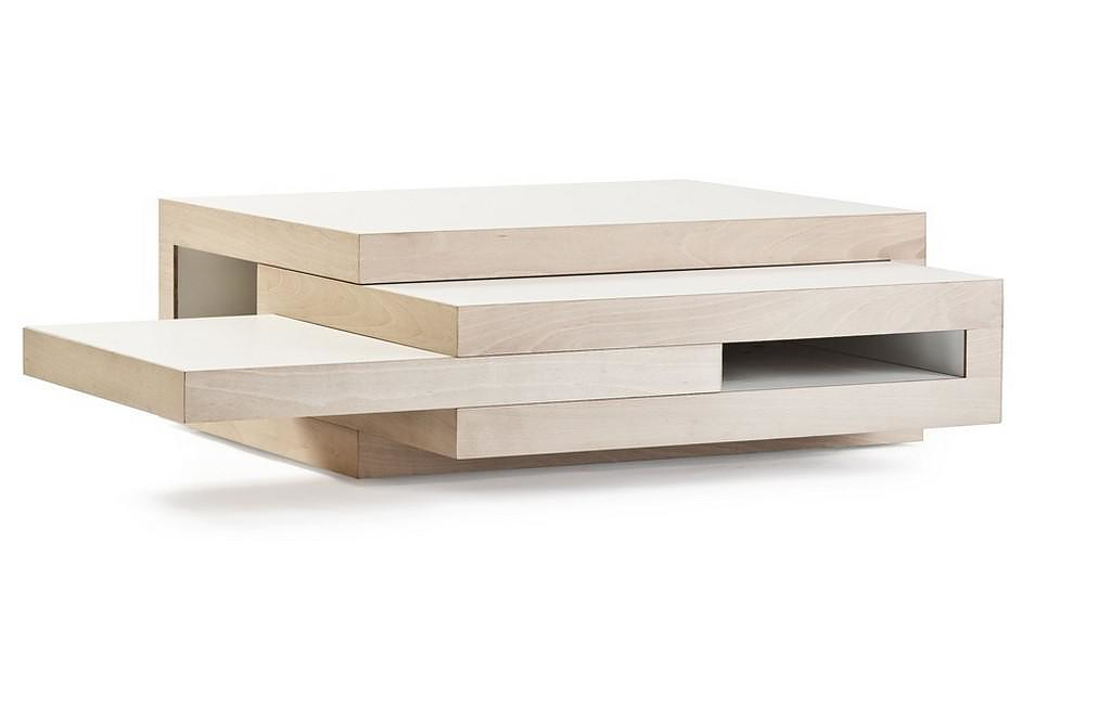 REK Expandable Coffee table by Reinier de Jong.