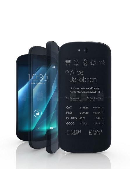 YotaPhone 2 Smartphone with e-ink Display.