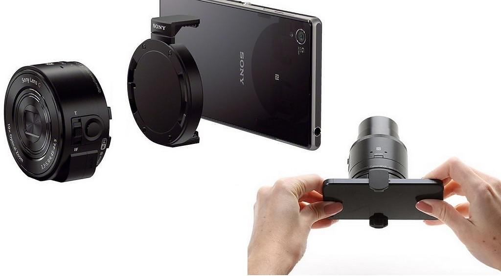 Sony Smart Lens QX10 Detachable Lens cover