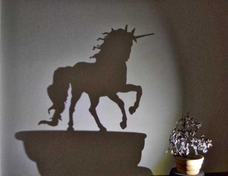 Έργα τέχνης από σκιά του Έλληνα καλλιτέχνη Teodosio Sectio Aurea.