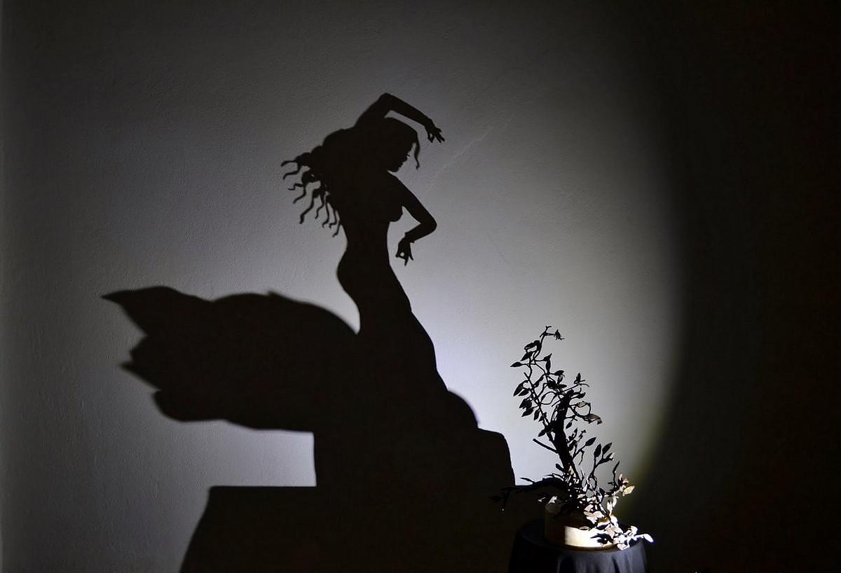 Art with shadows by Greek artist Teodosio Sectio Aurea.