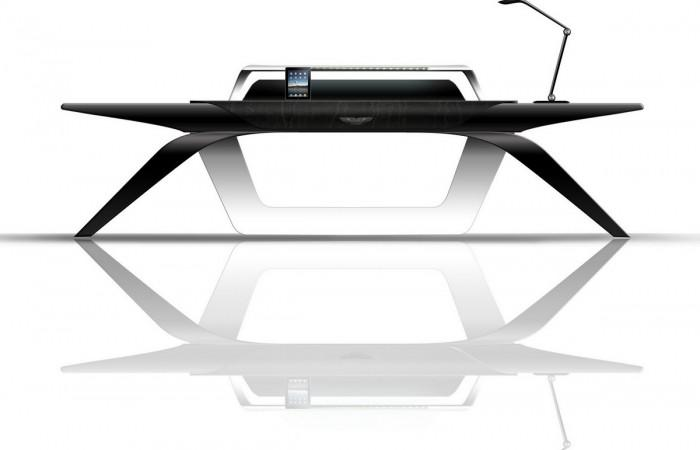 Aston Martin Office Desk by Formitalia Luxury Group