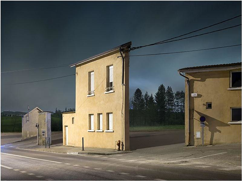 """Façades"" Surreal Urban Landscapes by Zachary Gaudrillot-Roy."