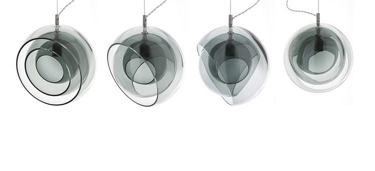 Orbital lamp by Viable London for Decode.