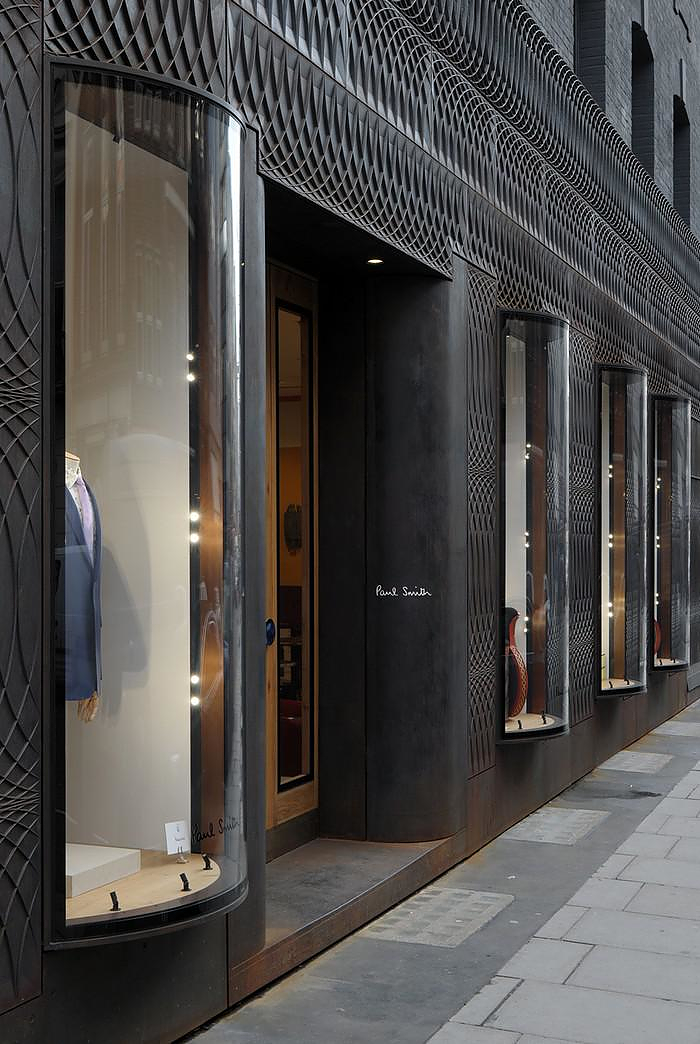 Paul Smith Albemarle Street Store Extension by 6a Architects.