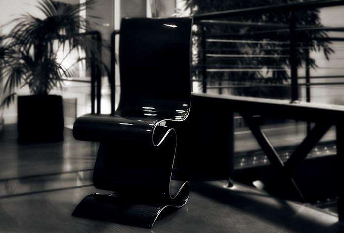 SCULPTURE Carbon Fiber Chair by Ventury Lab.