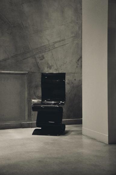 Κάθισμα από ανθρακονήματα SCULPTURE των Ventury Lab.