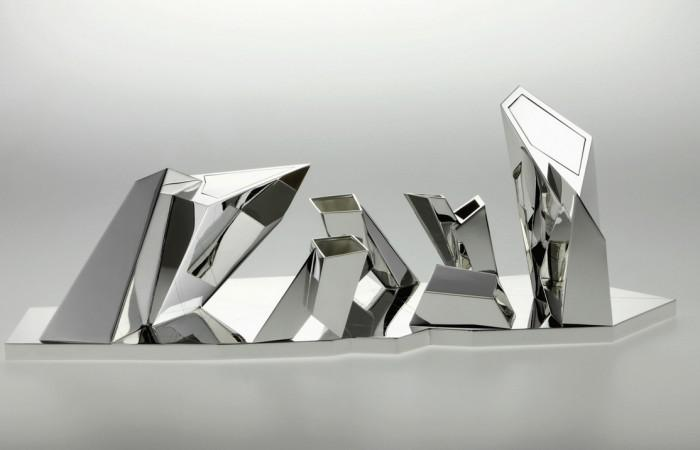 Tea & Coffee Set by Daniel Libeskind for Sawaya & Moroni (1)