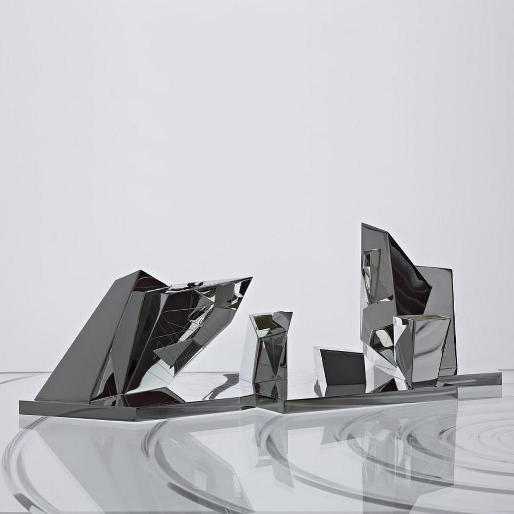 Tea & Coffee Set by Daniel Libeskind for Sawaya & Moroni.