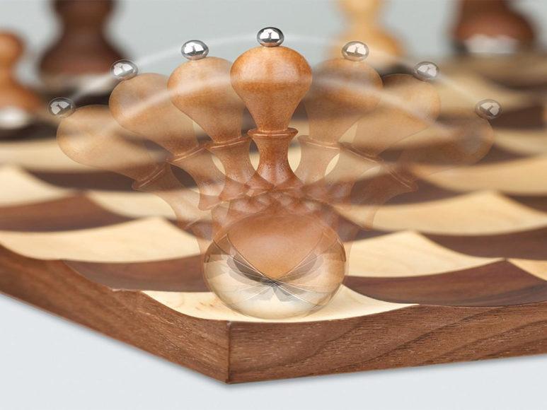 Wobble Chess της Umbra: Μία Σκακιέρα με Ξεχωριστό Design.
