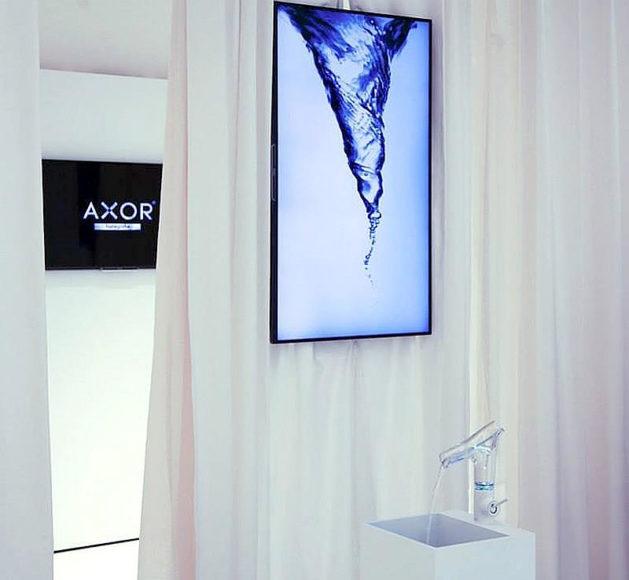 Βρύσες μπάνιου Axor Starck V του Philippe Starck για την Hansgrohe.