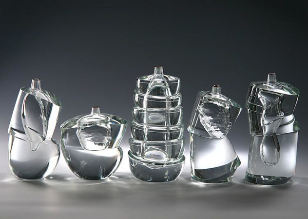 Extraordinary Murano Glass Vases by Yoichi Ohira