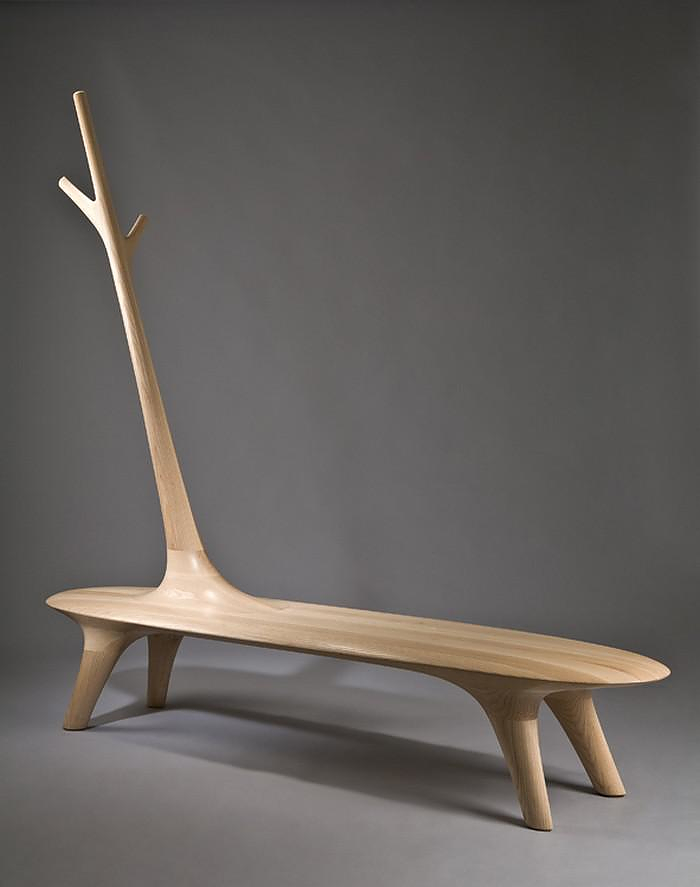"Surrealist furniture ""Grow up the branch"" by Kwon Jae Min."