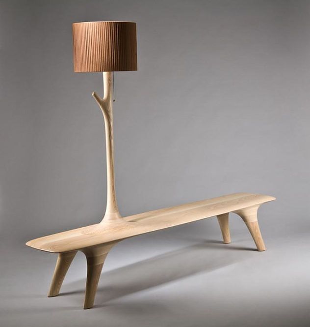 grow up the branch light bench by Kwon Jae Min 2