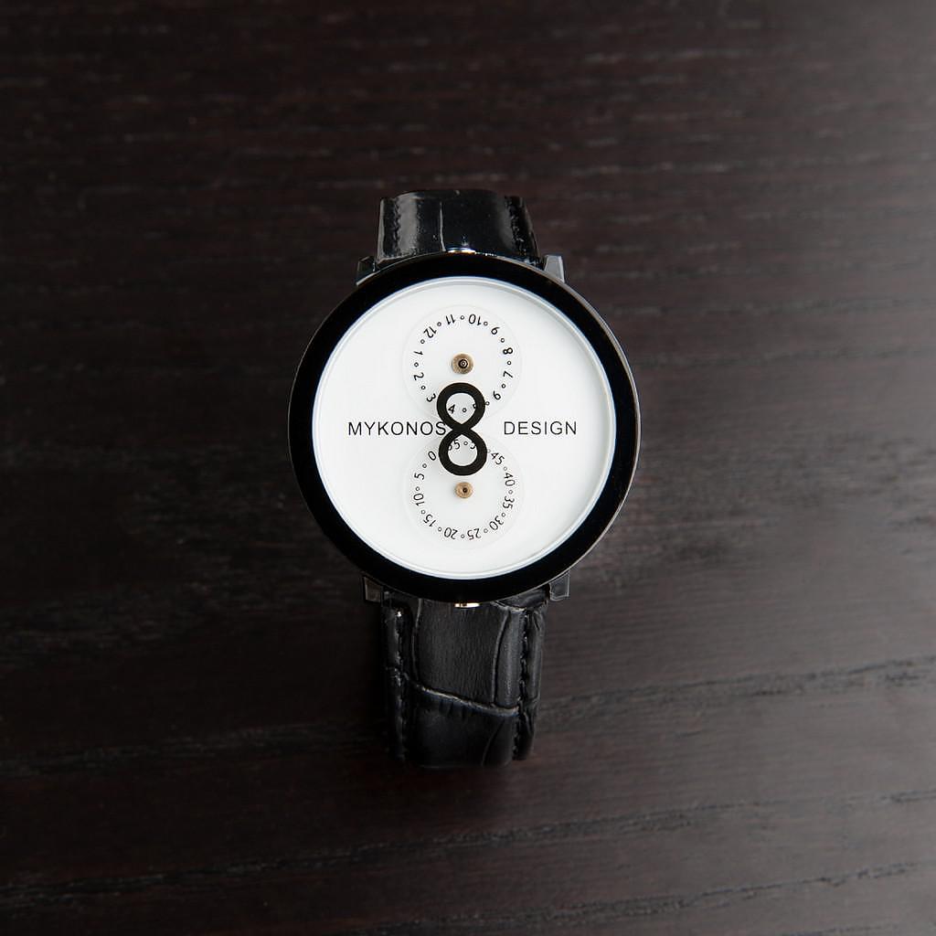 Infinity Watch by Mykonos Design.
