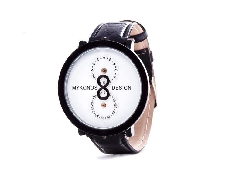 Μίνιμαλ Ρολόι Χειρός Infinity της Mykonos Design.