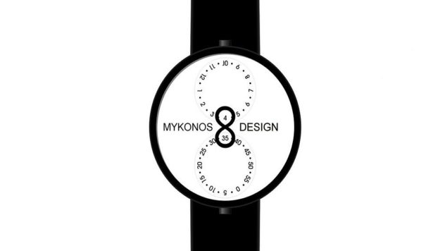 Infinity Wrist Watch Mykonos Design (4)