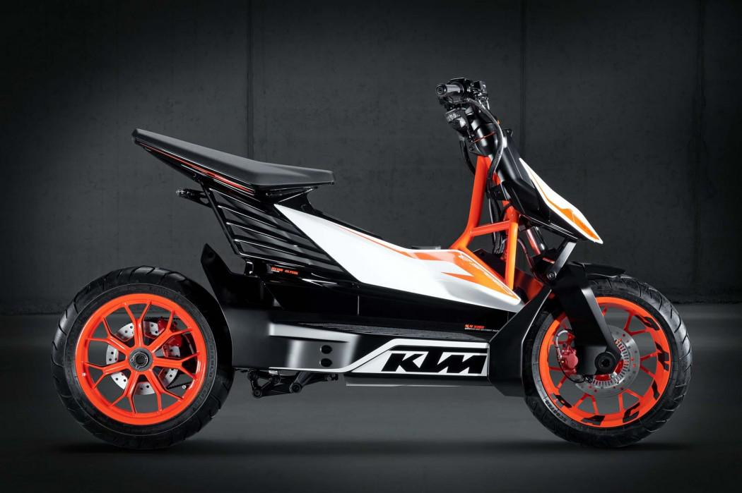 Ktm e speed electric scooter concept design is this for Decoration ktm