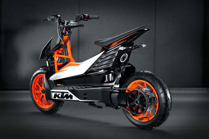 Ηλεκτρικό Scooter KTM E-Speed Concept.