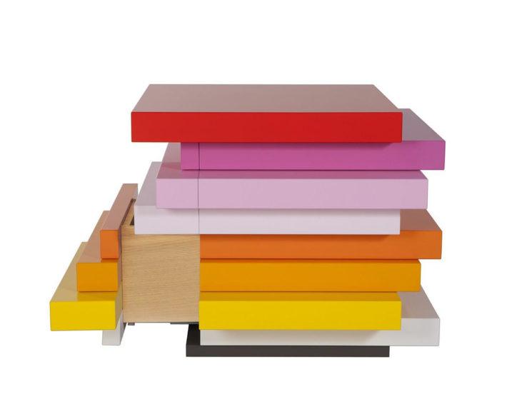 Συρταριέρες Mille Feuille της Emmanuelle Moureaux για την Schönbuch.