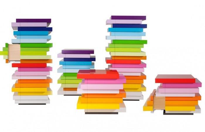 Mille Feuille Storage Units by Emmanuelle Moureaux for Schonbuch