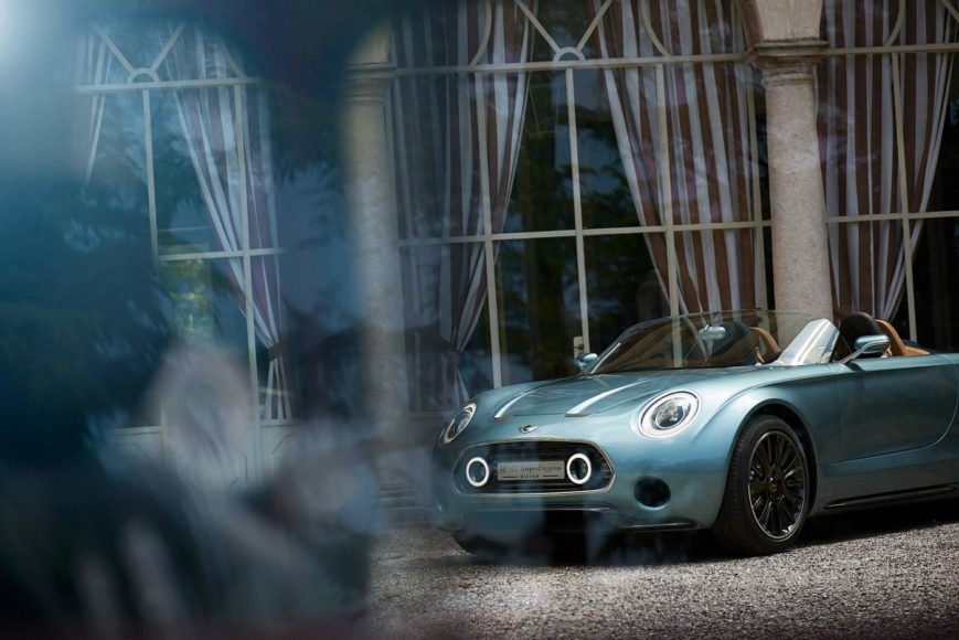 Mini Superleggera Vision Concept. Ένα ηλεκτρικό Mini Cooper Roadster.