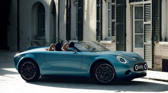 Mini Superleggera Vision Concept a beautiful all-electric Mini Roadster
