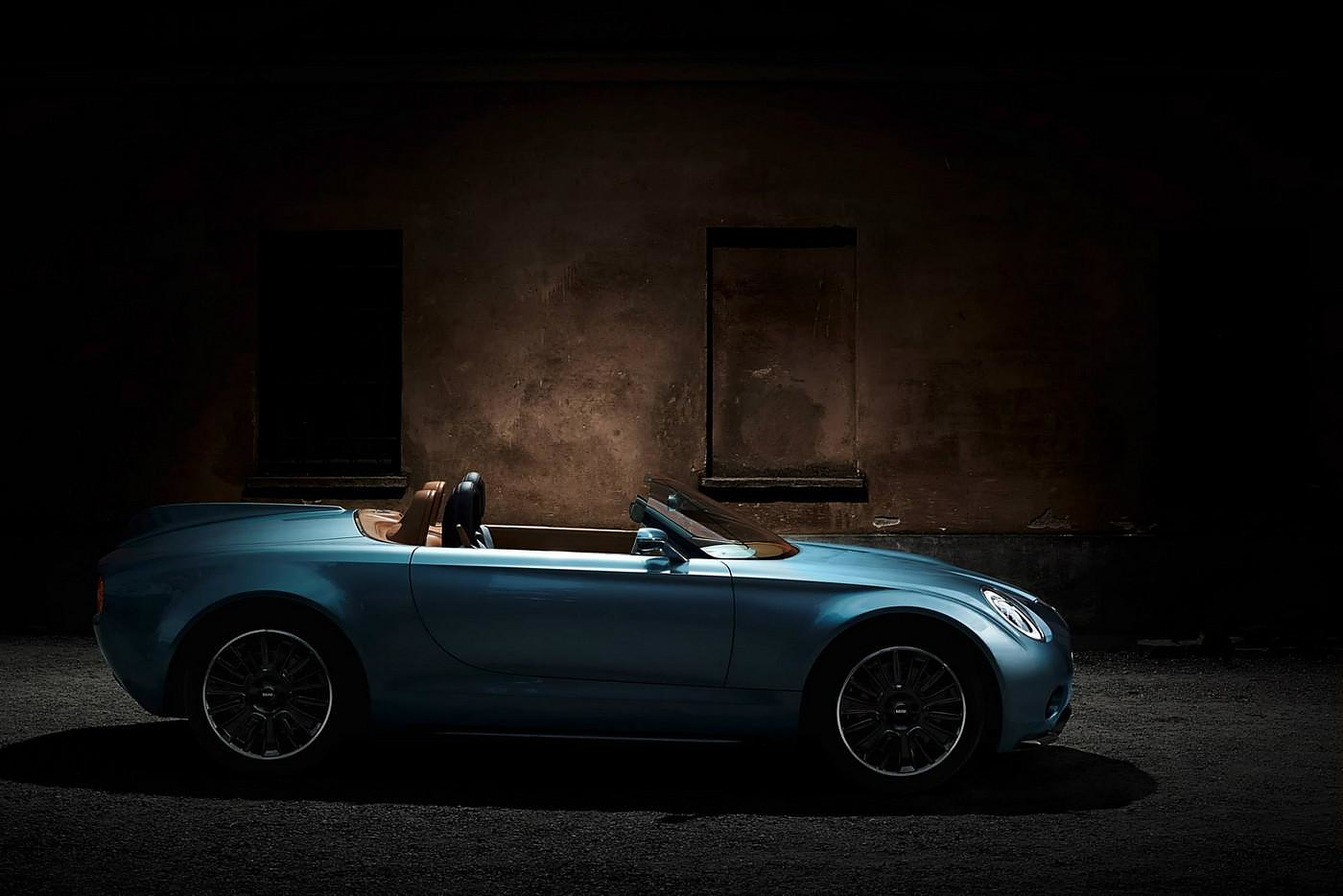 Mini Superleggera Vision Concept. Ένα ηλεκτρικό Mini Cooper Roadster.