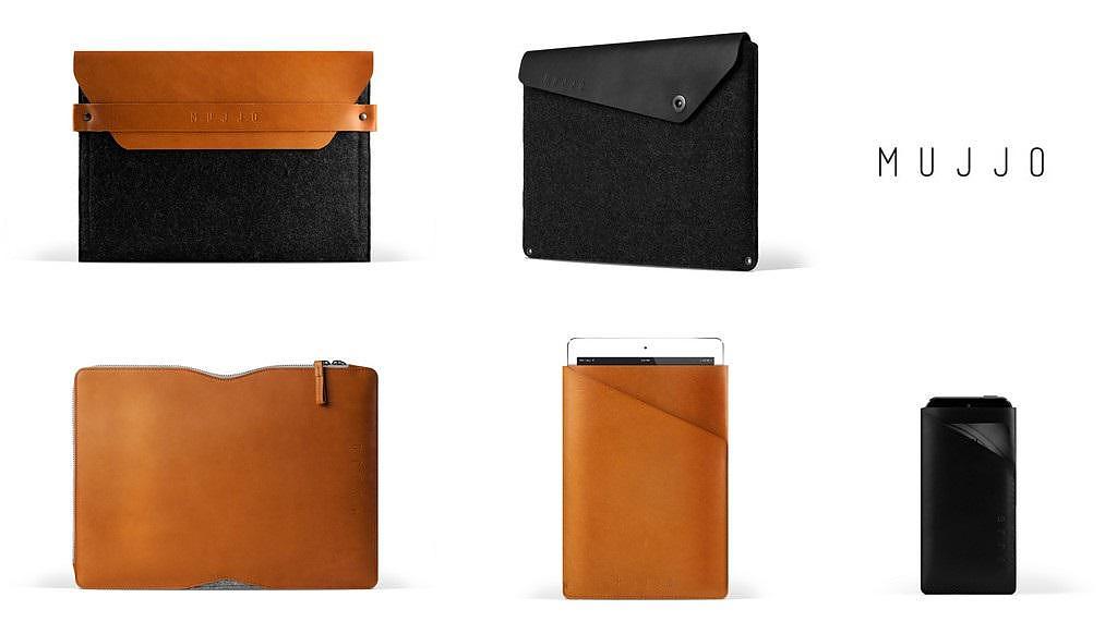 Mujjo Leather Sleeves for iPhone iPad Macbook (4)